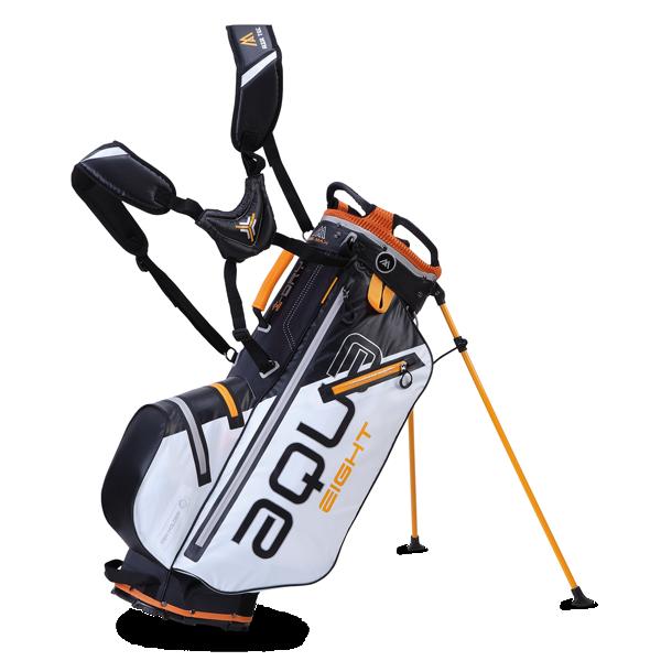 Aqua Eight Standbag, weiß/schwarz/orange