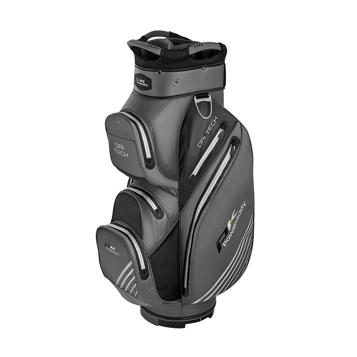 Dri Tech Cartbag, titanium/schwarz/silber