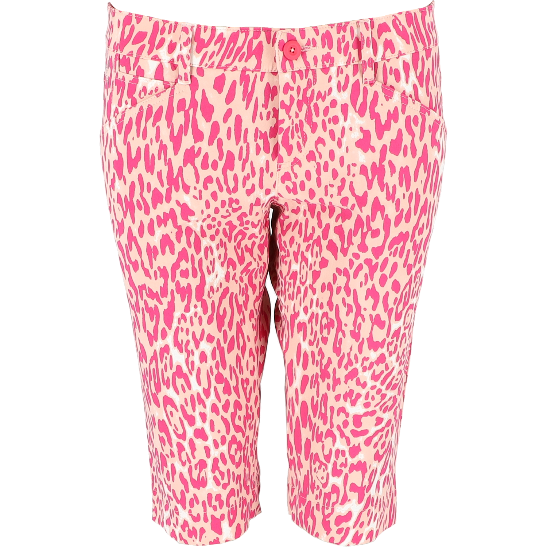 MONA-K Bermuda - WR Leopard Print, fantasy rosa