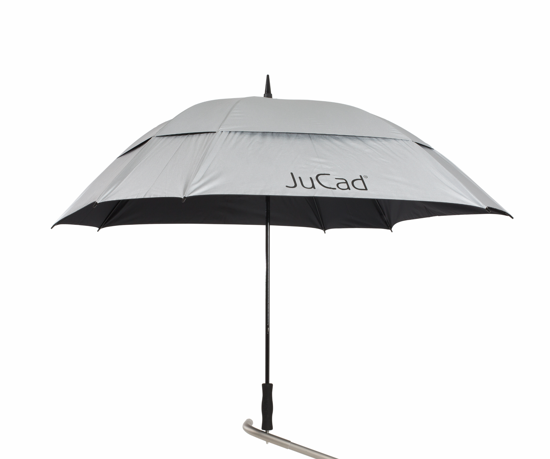 JuCad Golfschirm quadratisch/windproof