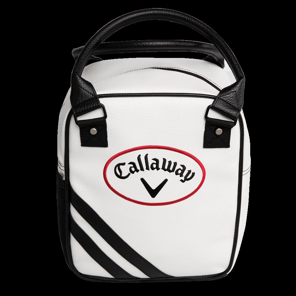 Practice Caddy Balltasche, weiß/schwarz