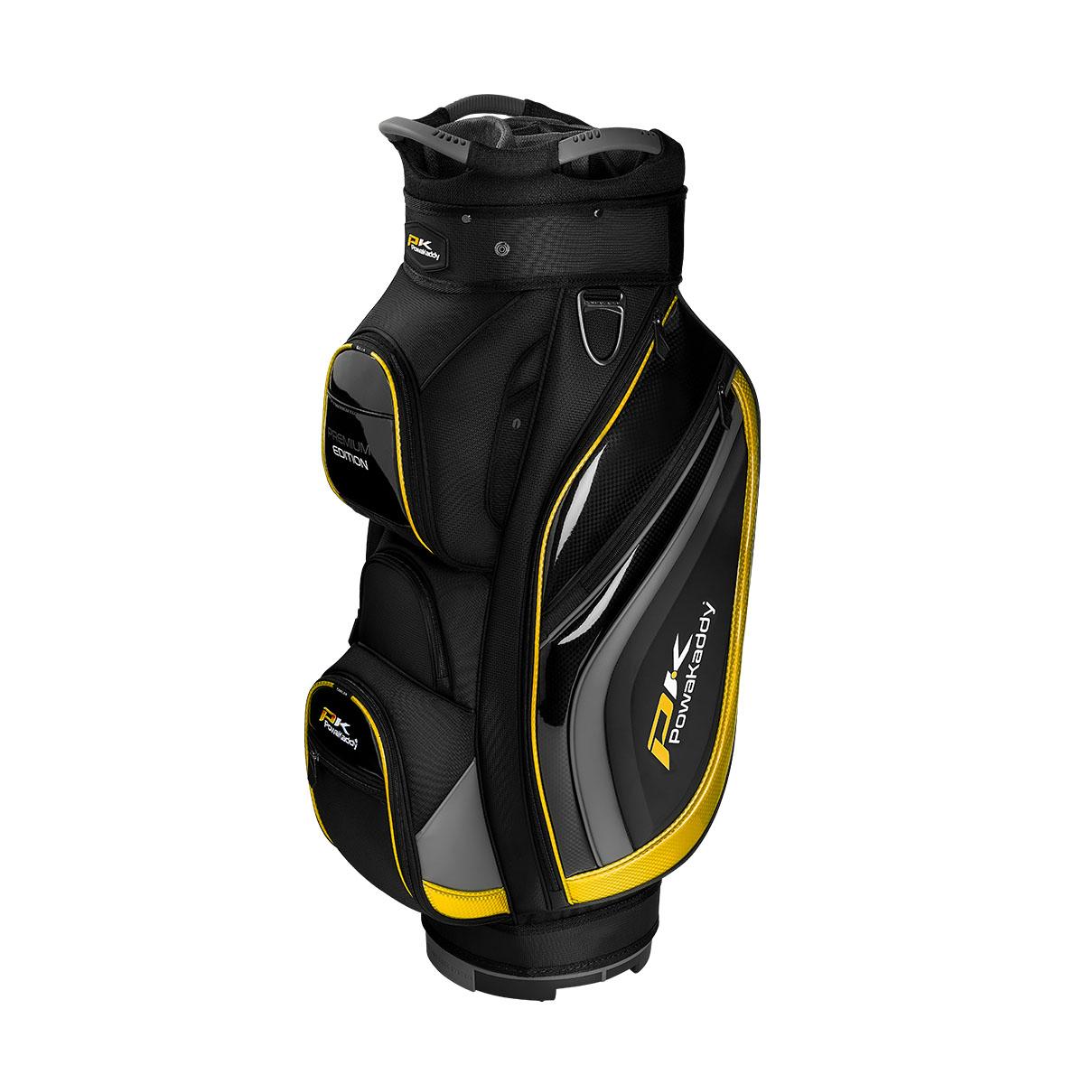 Premium Edition Cartbag, schwarz/grau/gelb