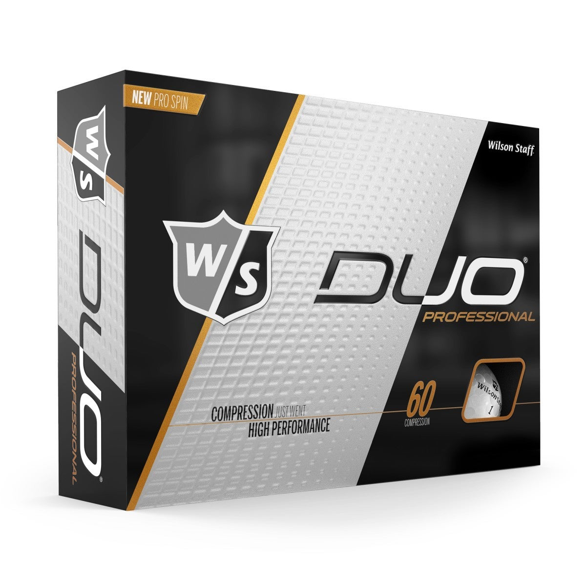 Duo Professional Golfbälle, weiß