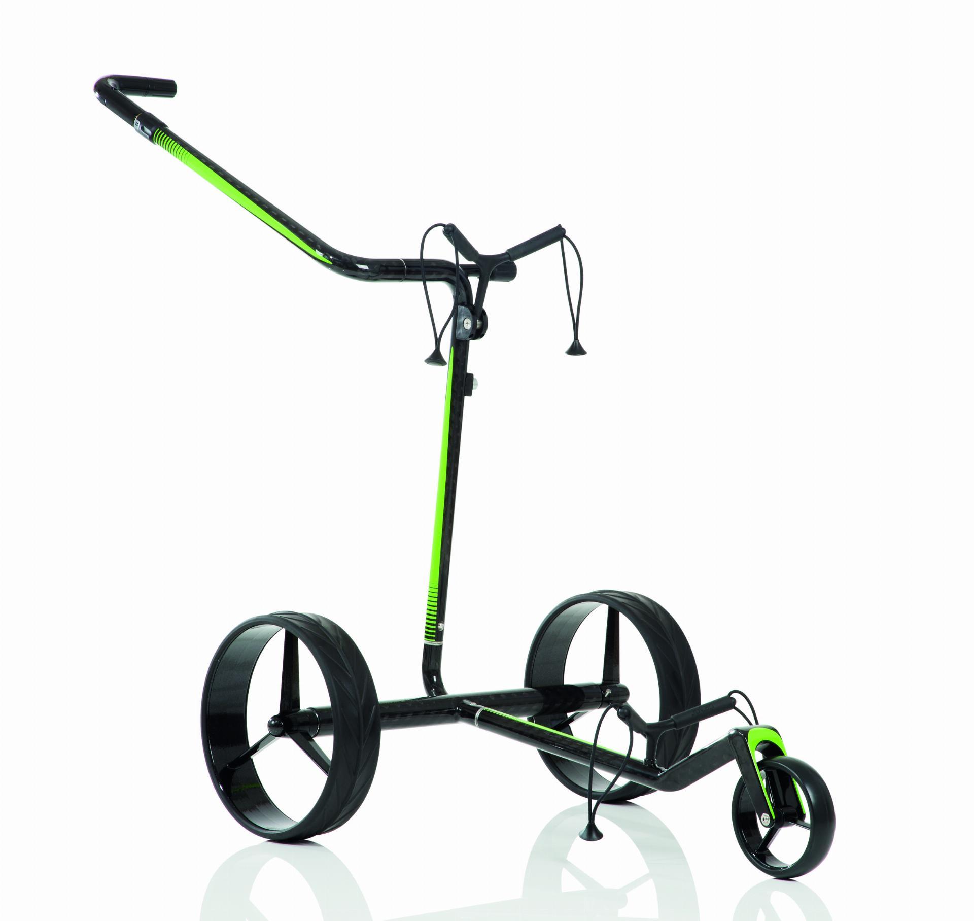 JuCad - Carbon Travel 2.0 - schwarz/grün