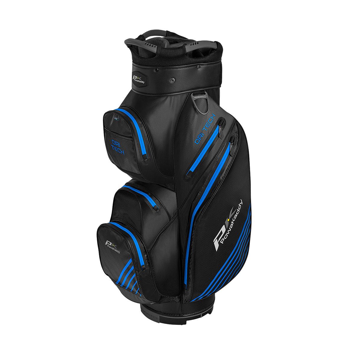 Dri Tech Cartbag, schwarz/grau/blau