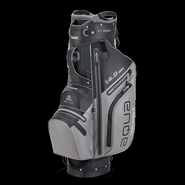 Aqua Sport 3 Cartbag, schwarz/grau