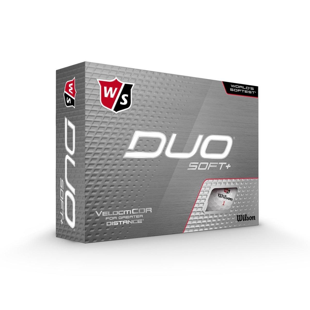 Duo Soft+ Golfbälle, weiß