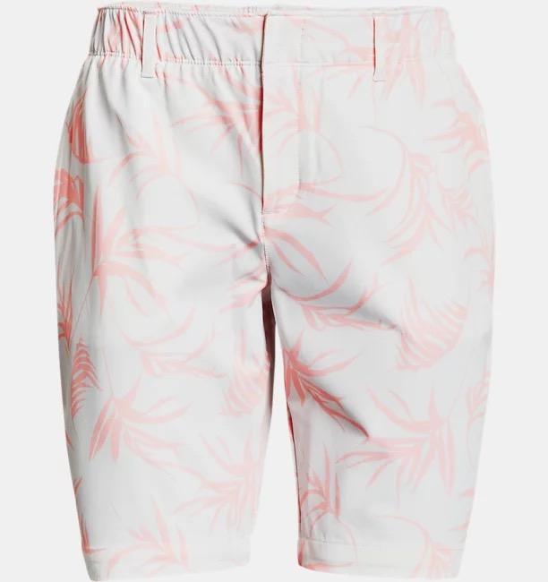 Links Printed Shorts, white