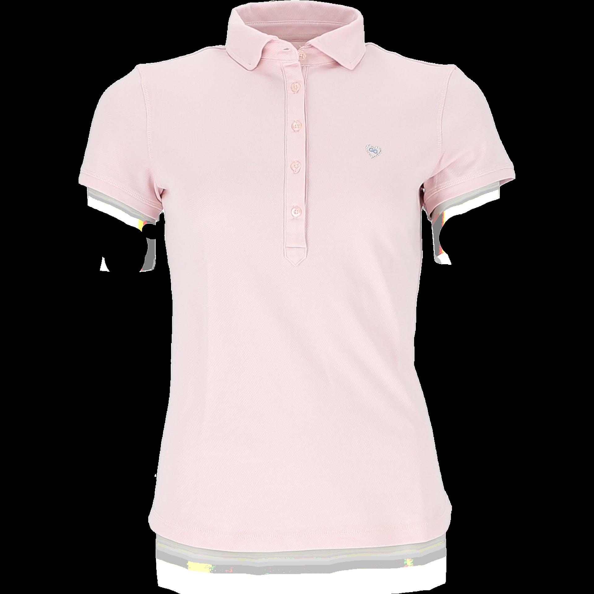 Girls Golf - Polo, Rose Print