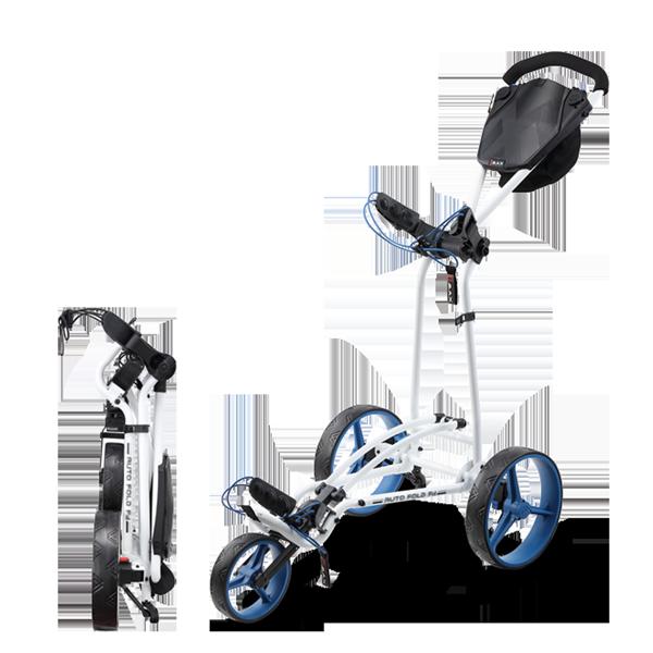 Autofold FF Trolley, weiß/cobalt