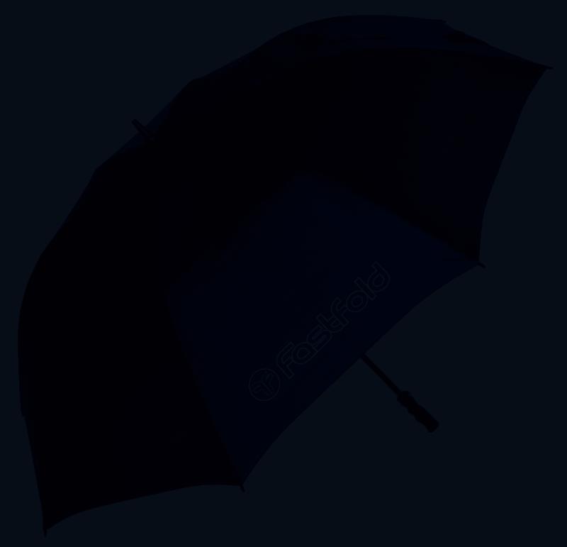 Fast Fold Regenschirm, schwarz