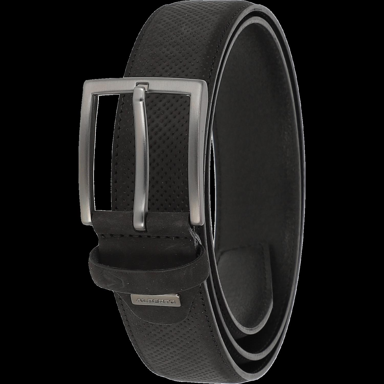 Gürtel - Leather Belt, schwarz