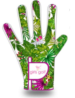 Birdie Handschuh , grün
