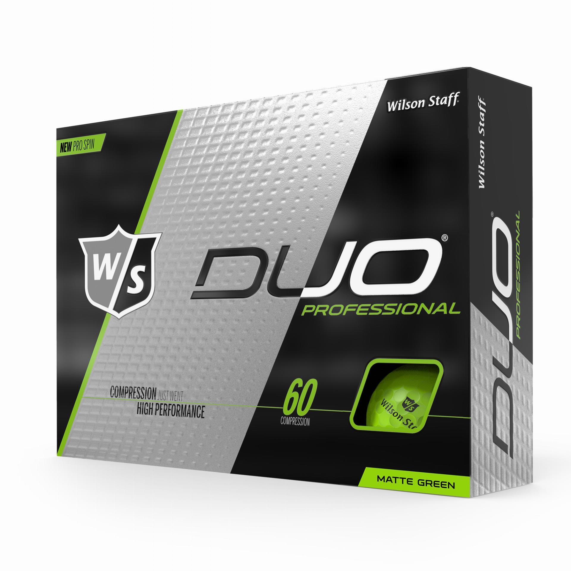 Duo Professional Golfbälle, grün