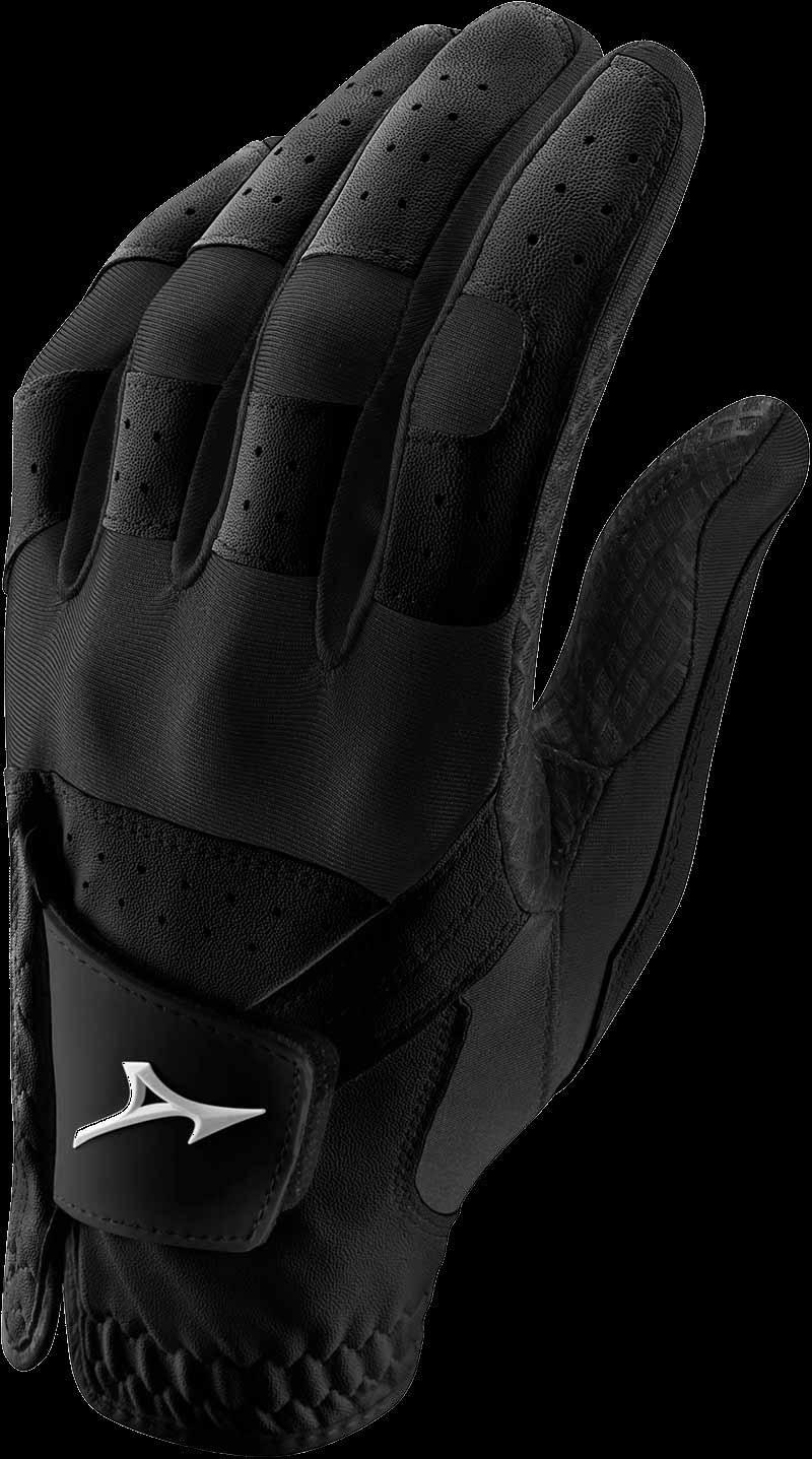 Stretch Handschuh, schwarz