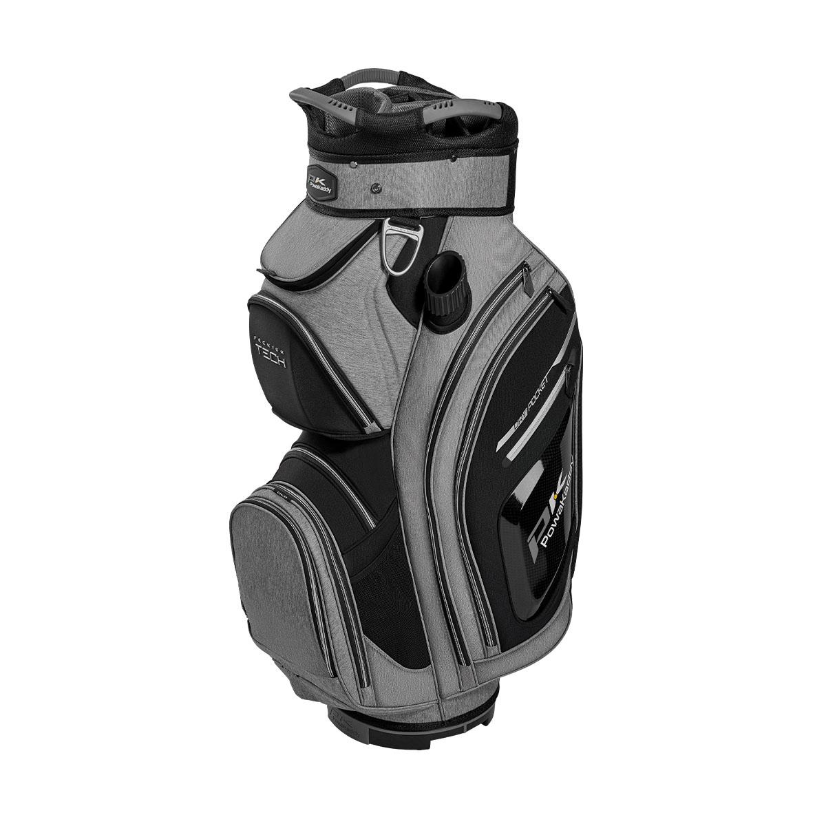 Premium Tech Cartbag, grau/schwarz/silber