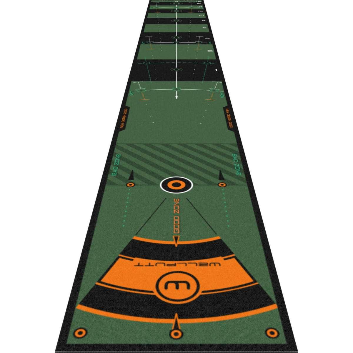 Wellputt High Speed 4 Meter Puttmatte, grün