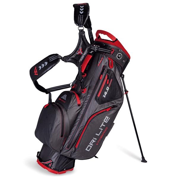 Dri Lite Hybrid 14 Standbag, grau/schwarz/rot