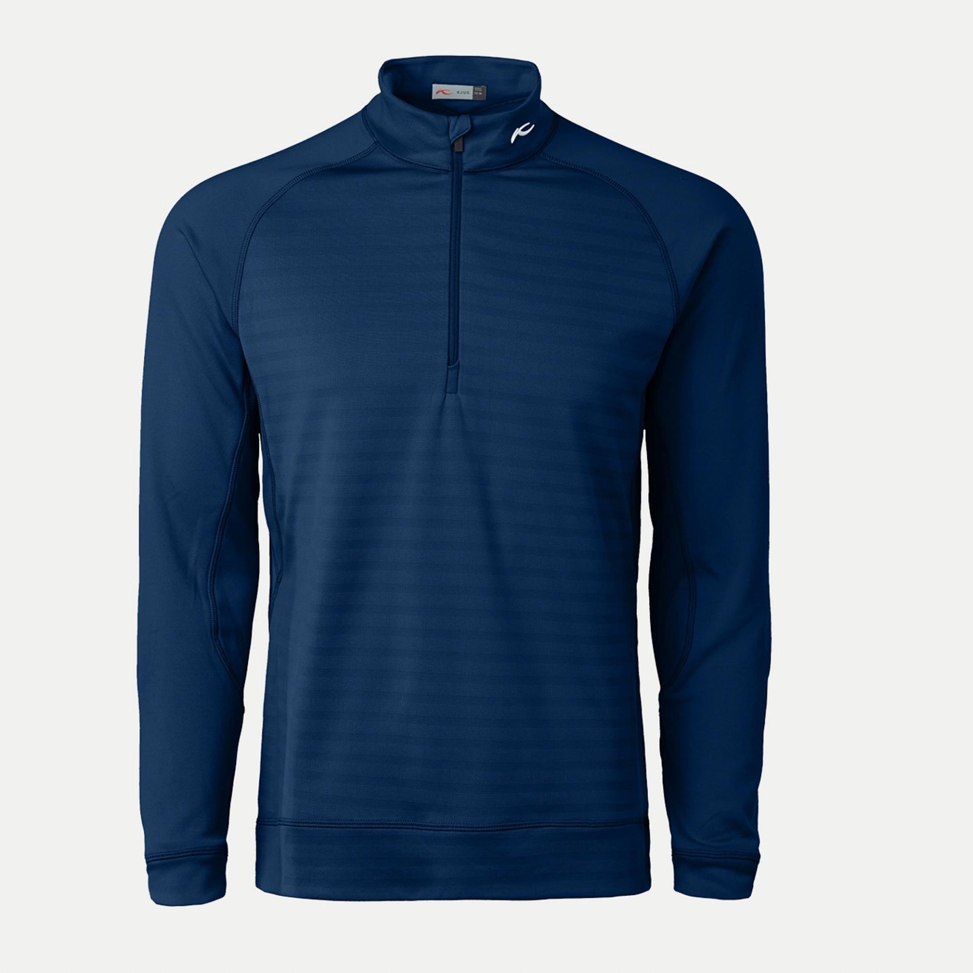 Keano Stripe Half-Zip Midlayer, Atlanta Blue