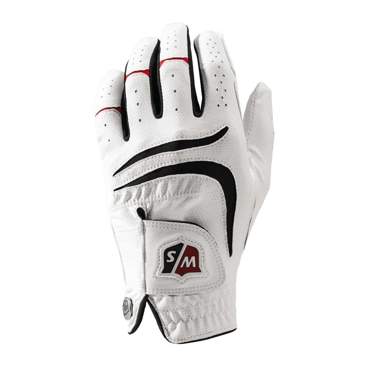 Grip Plus Handschuh, weiß