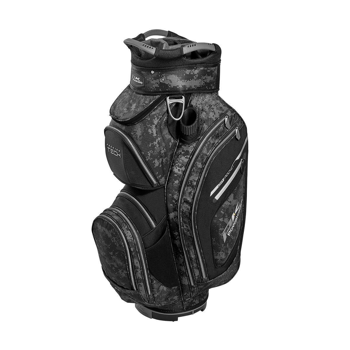 Premium Tech Cartbag, schwarz/grau/silber
