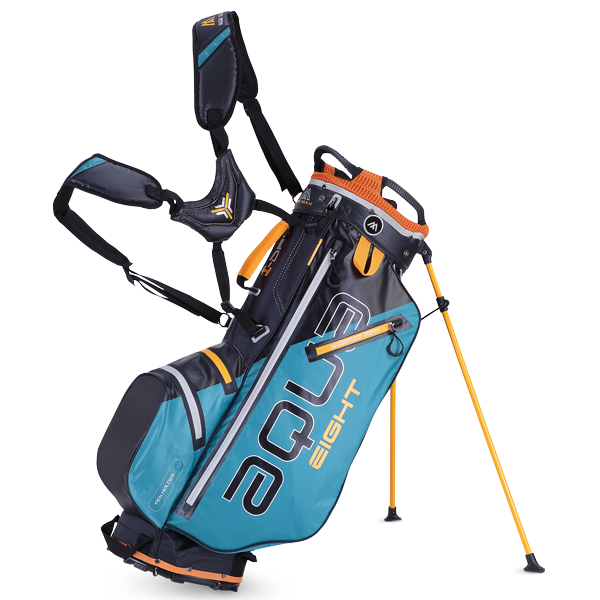 Aqua Eight Standbag, petrol/schwarz/orange