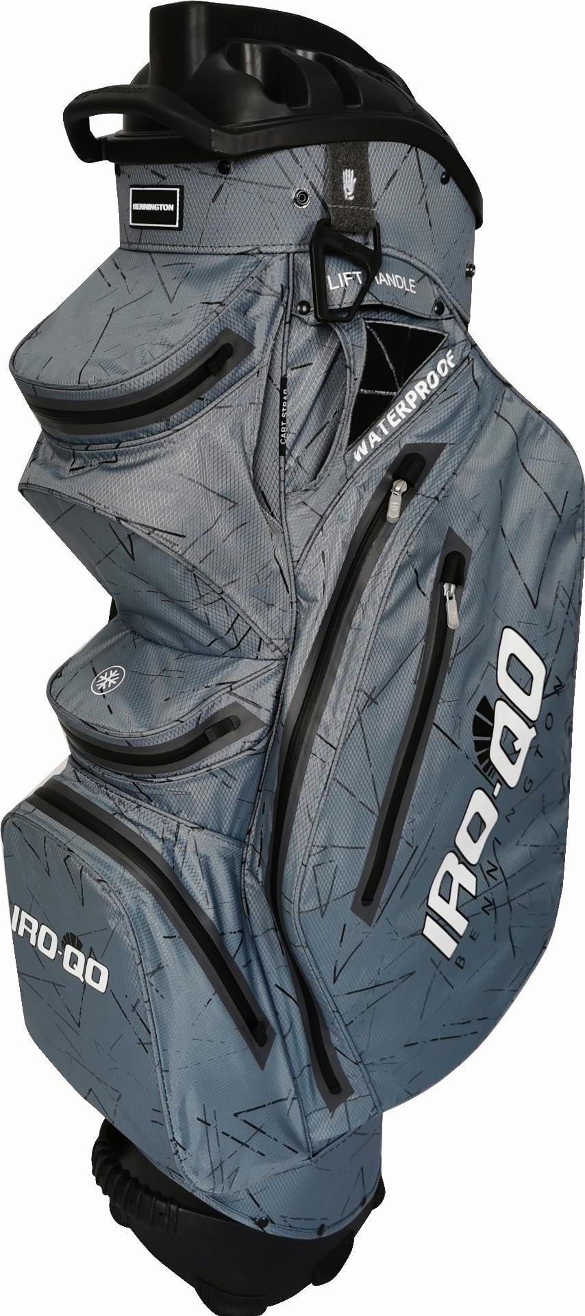 IRO QO 14 Waterproof Cartbag, grau/schwarz