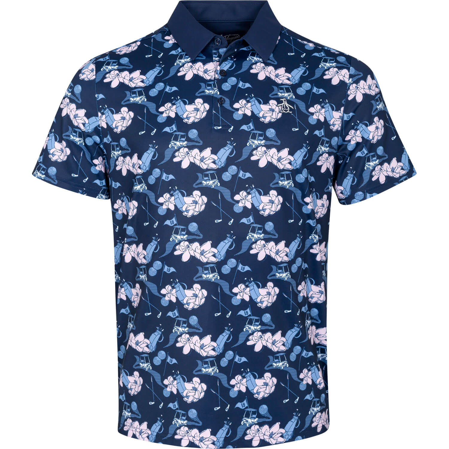 Large Floral Polo