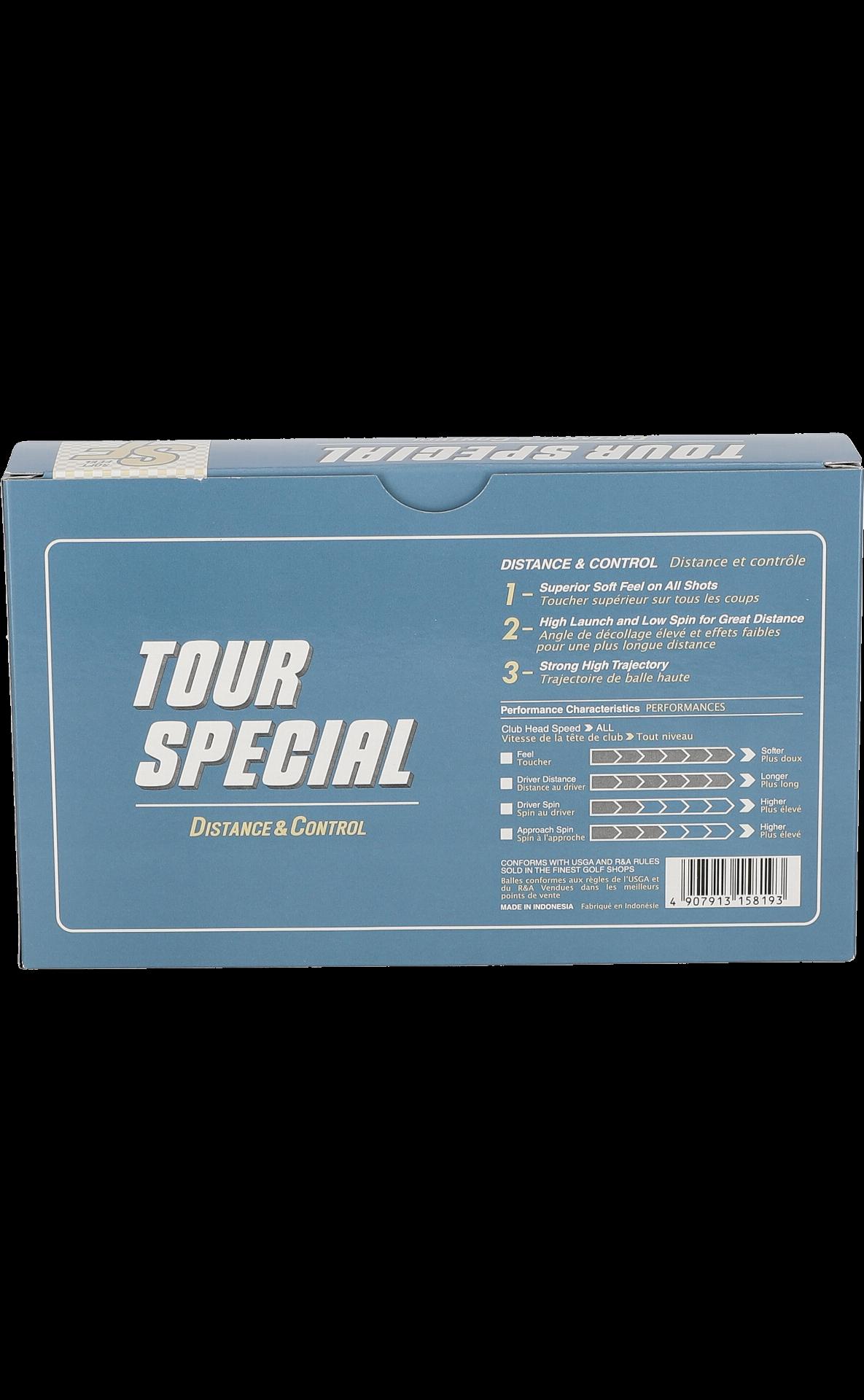 Soft Feel Tour Special Golfbälle, weiß