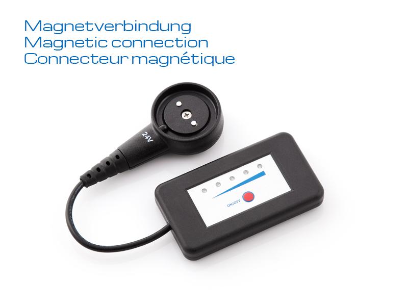 JuCad - Ladestandsanzeige mit Magnetstecker