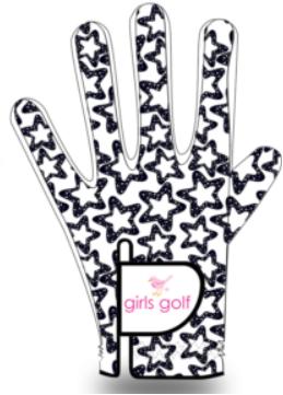 Birdie Handschuh, white star