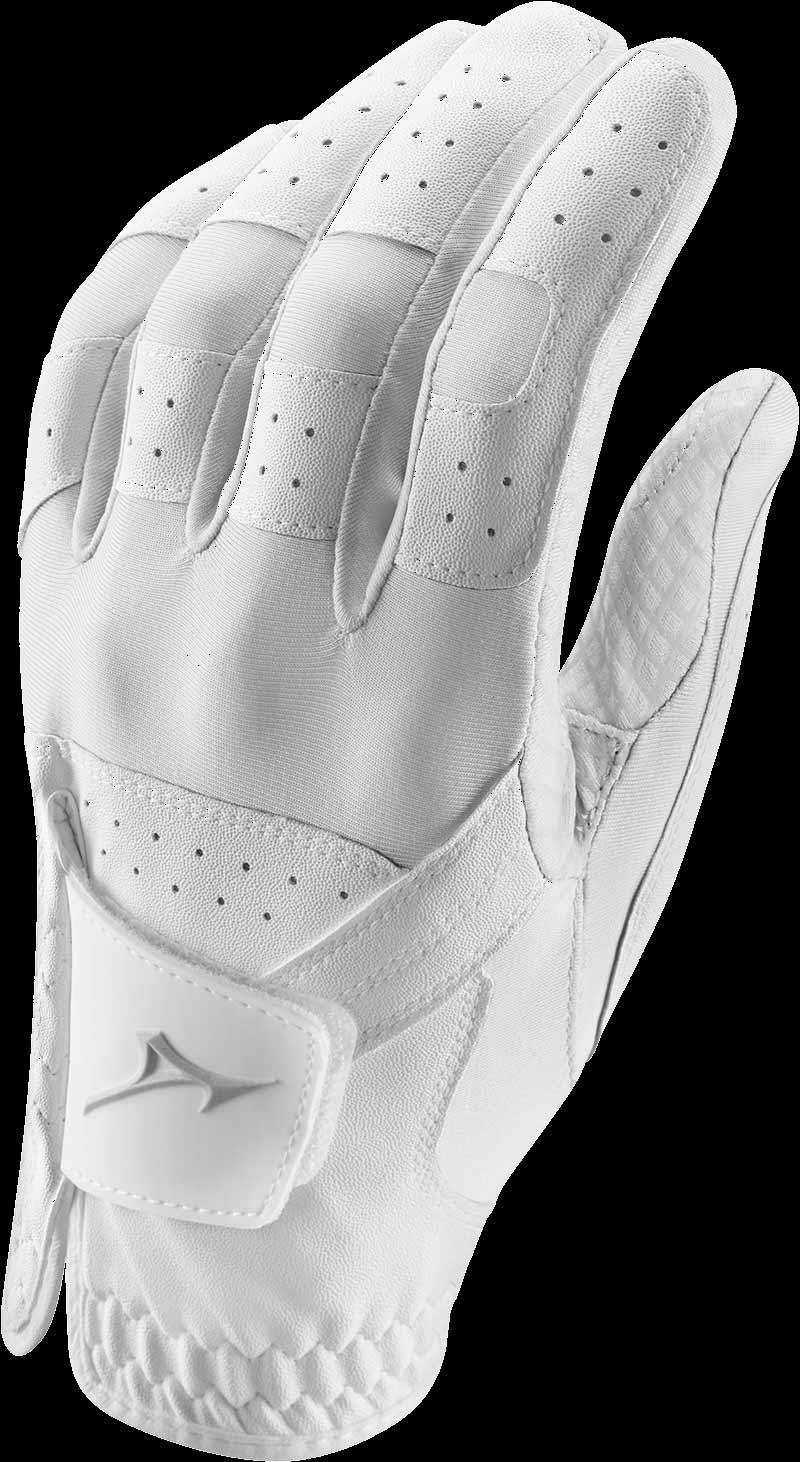 Stretch Handschuh, weiß