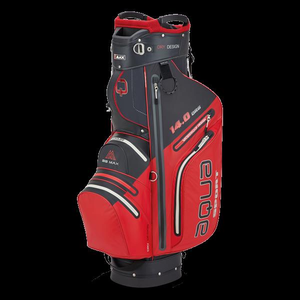 Aqua Sport 3 Cartbag, rot/schwarz