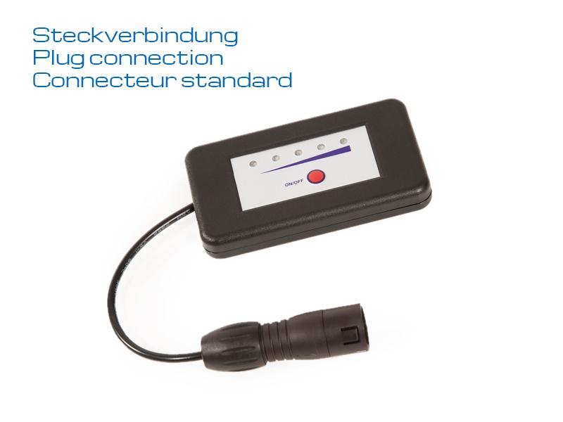 JuCad - Ladestandsanzeige für Steckverbindung