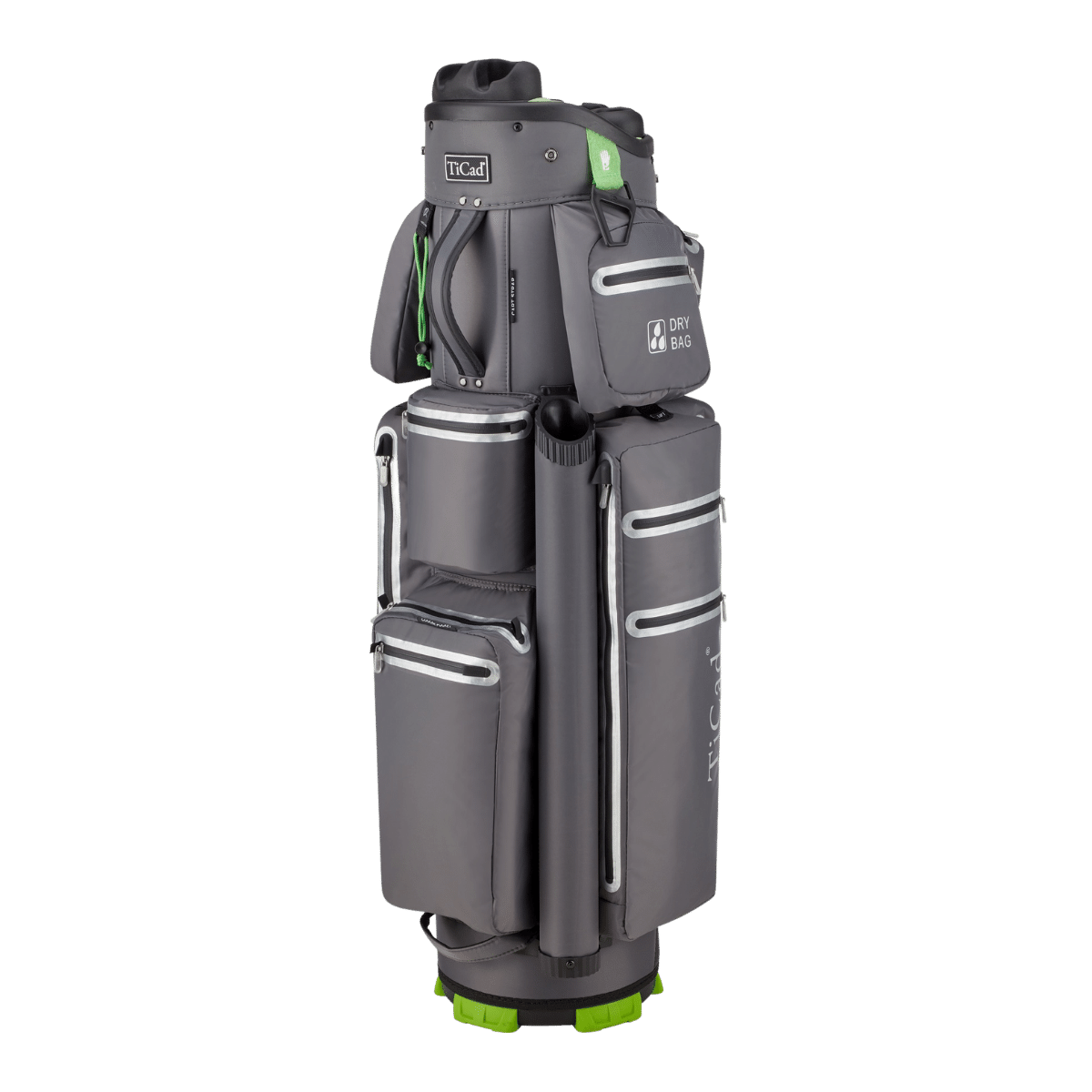 QO 9 Classic Waterproof Cartbag, dunkelgrau
