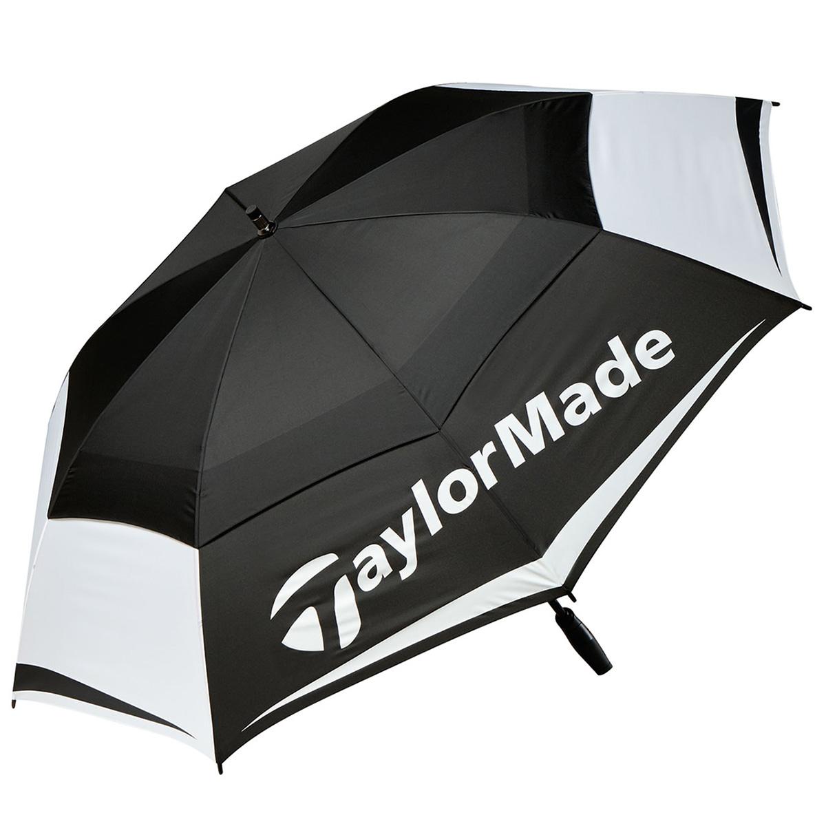 Tour Double Canopy Regenschirm, schwarz