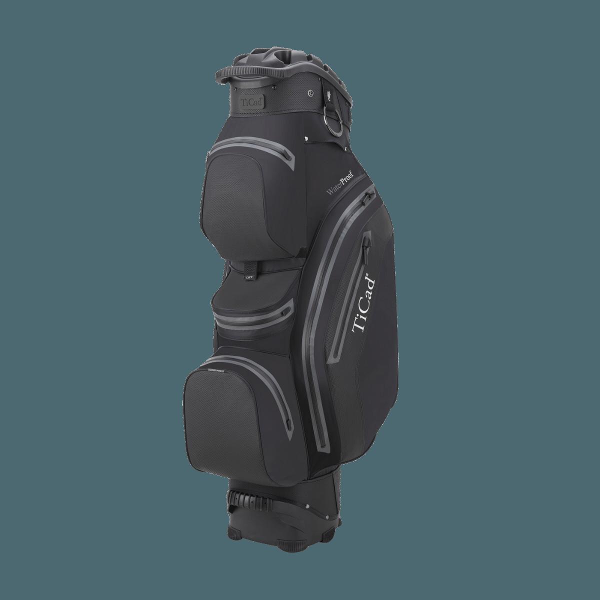 QO 14 Premium Waterproof Cartbag, schwarz